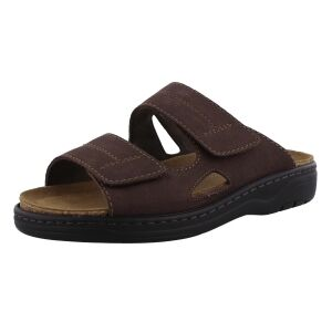 Solidus Slippers Solidus  78063 donker bruin