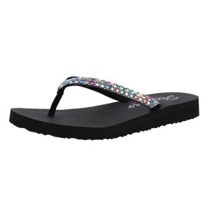 Skechers DAMES SLIPPERS Skechers  32918 zwart