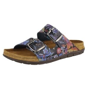 Rohde DAMES SLIPPERS Rohde  5864 blauw