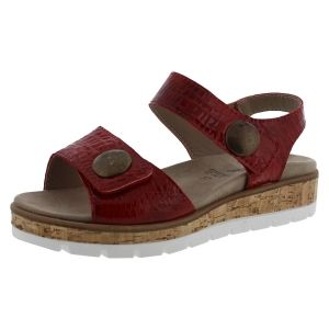 Chic Sandalen Chic voetbed Mia 25 rood