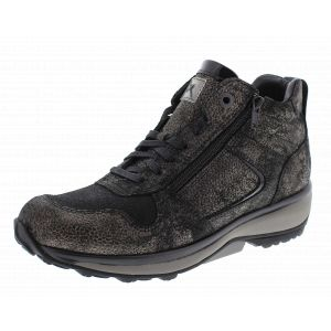 Xsensible Dames bootties Xsensible  30026.2 zwart-grijs