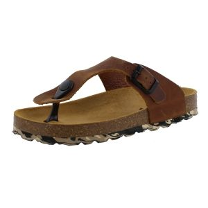Develab Jongens slipper Develab  48165 cognac