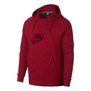 Nike Heren sweater Nike  AV8408 rood