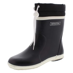 Bergstein Kinder rubberlaarzen Bergstein  BN Rainboot Winter zwart