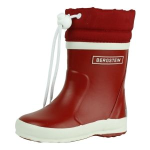 Bergstein Kinder rubberlaarzen Bergstein  BN Rainboot Winter rood