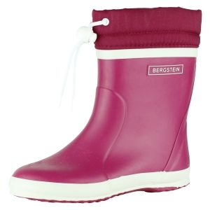 Bergstein Kinder rubberlaarzen Bergstein  BN Rainboot Winter fuchsia